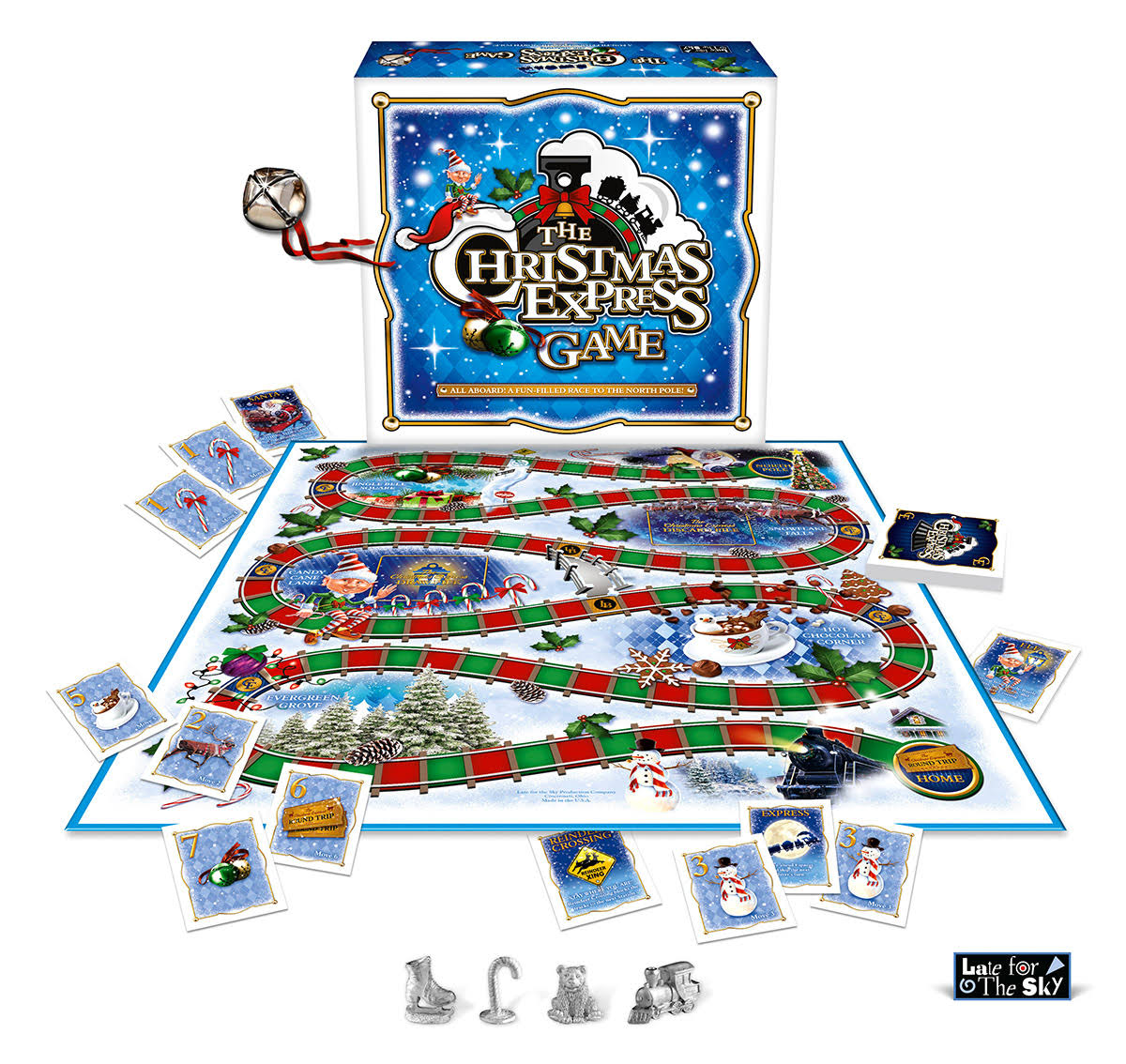 Late for The Sky The Christmas Express Board Game