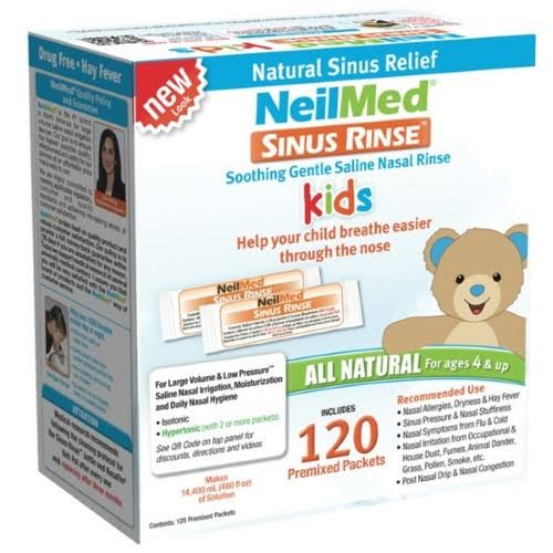 Neilmed Sinus Rinse Pediatric Refill Packets - 120 Pack
