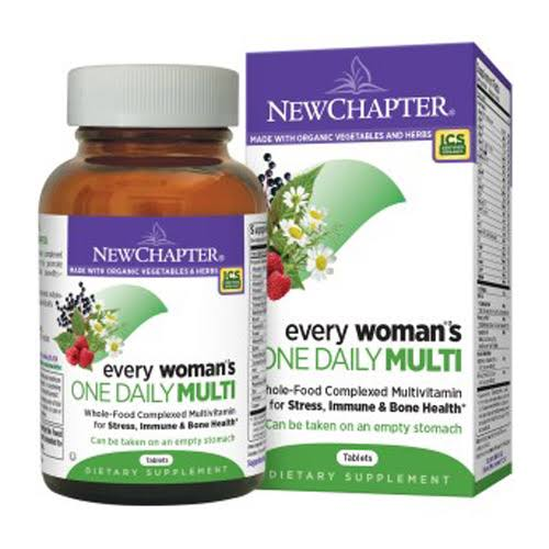 New Chapter Every Woman's One Daily Multivitamins - 72 Tablets