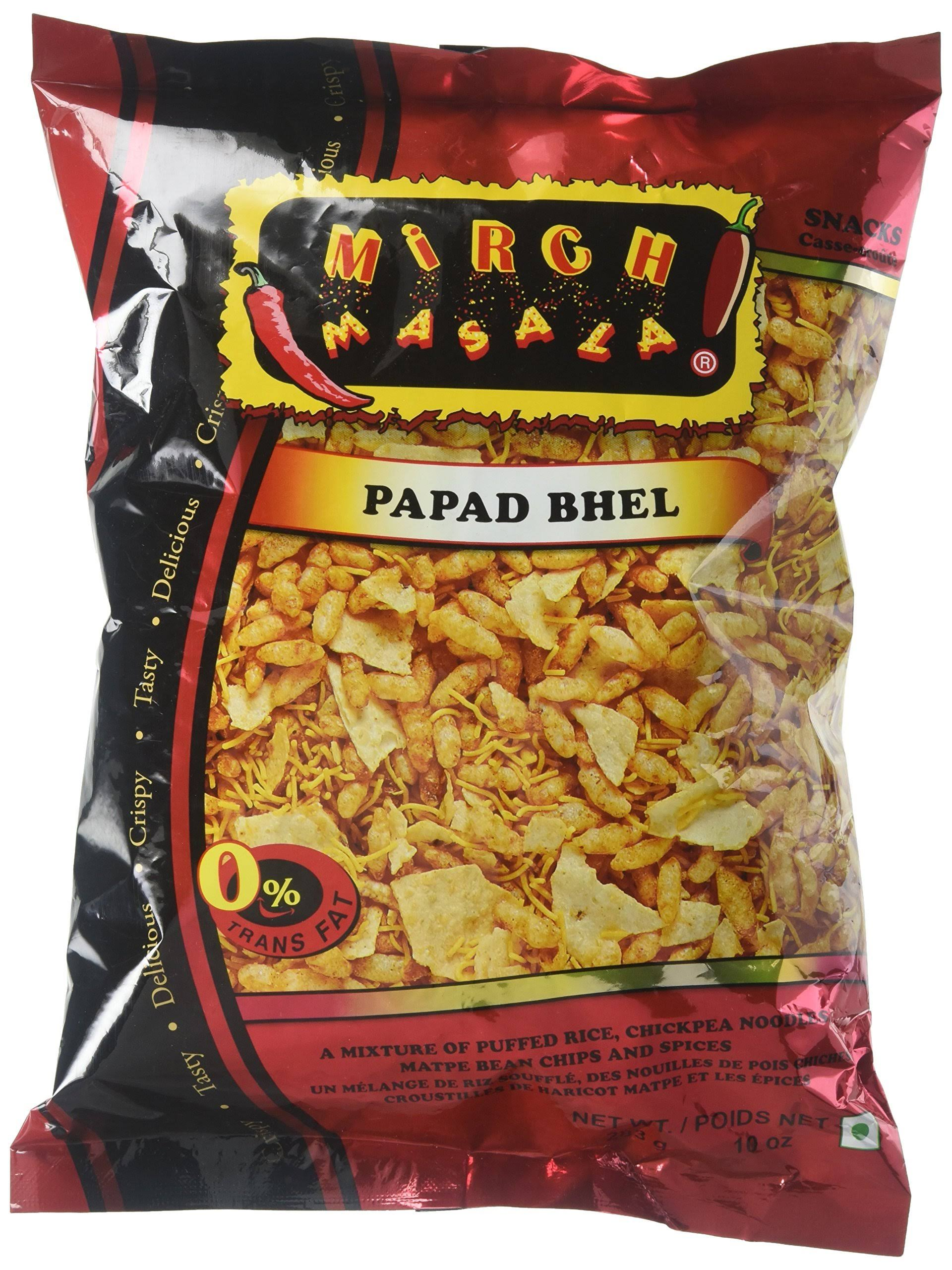 Mirch Masala Papad Bhel - 10oz