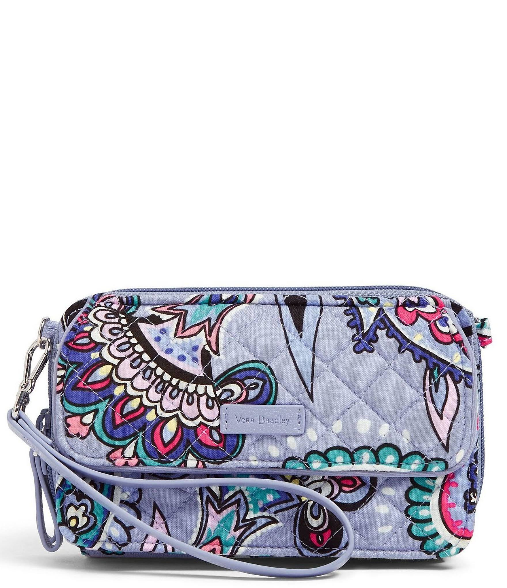 Vera Bradley Iconic RFID All in One Crossbody - Makani Paisley/Silver