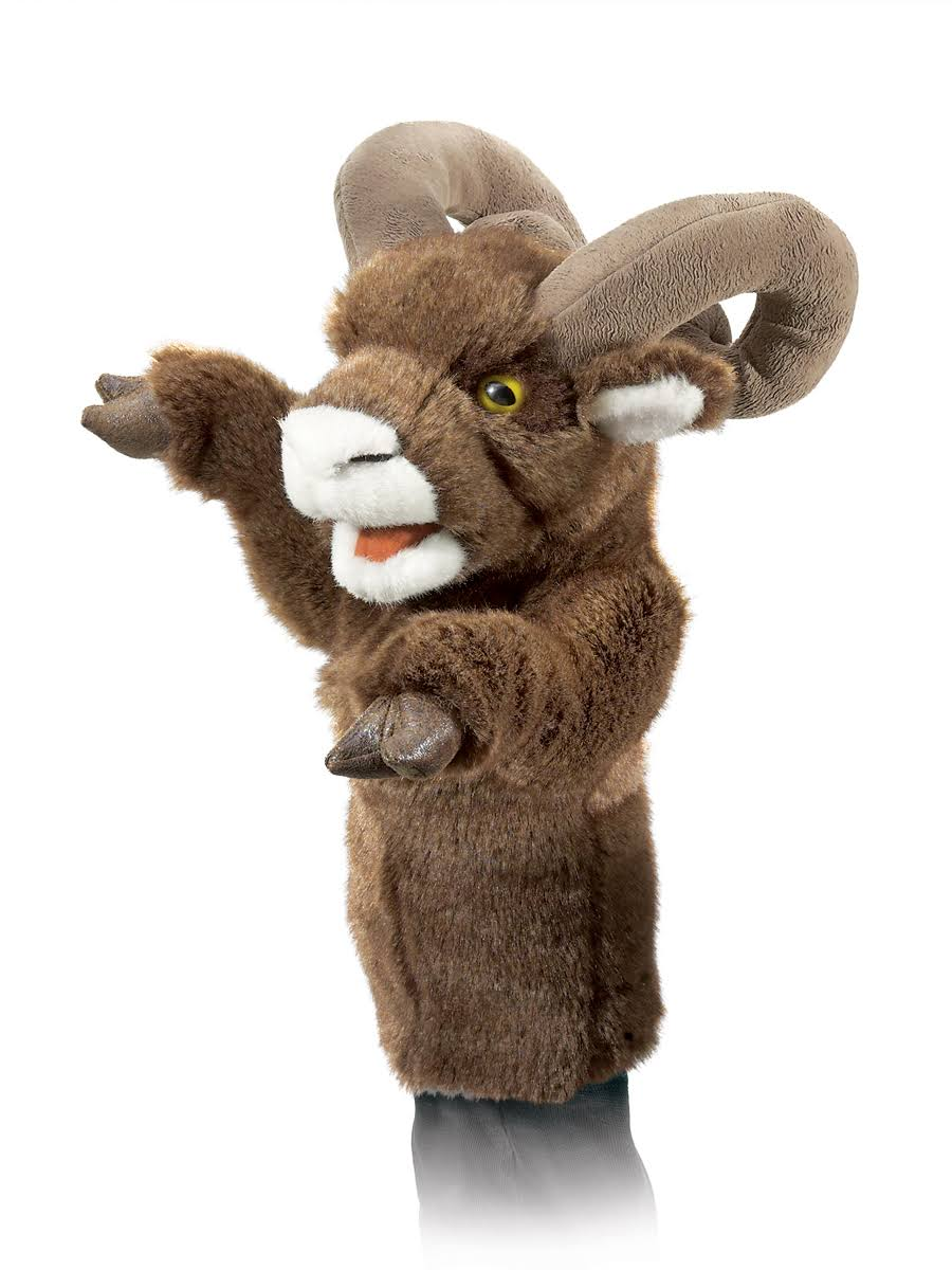 Folkmanis T2985 Bighorn Sheep Stage Puppet