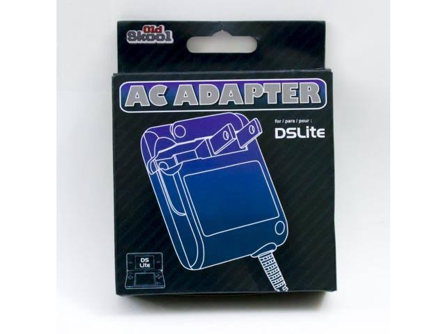Old Skool Nintendo DS Lite Foldable Flip AC Adapter Charger