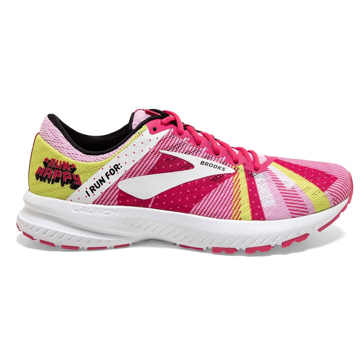 Brooks Women's Launch 6 Running Shoes, Size: 8, Pink