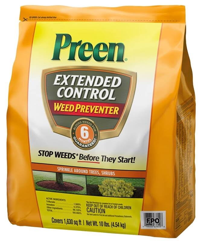 Preen 10 lbs. Extended Control Weed Preventer