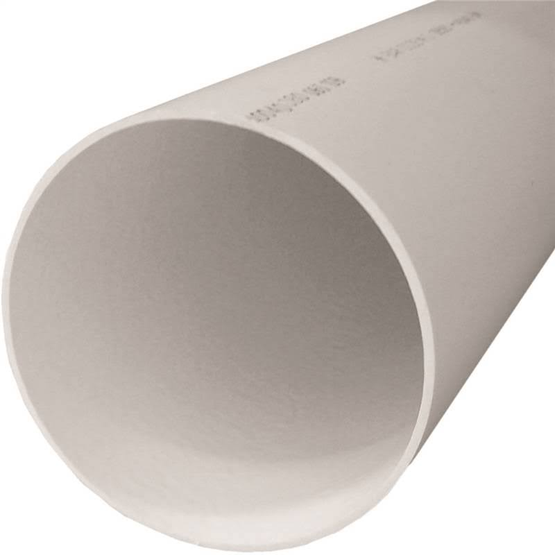 "Genova PVC Cold Water Pressure Pipe - SDR 26, Belled End, 1 1/2""x20'"