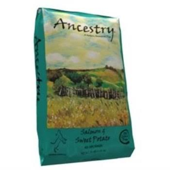 Ancestry Salmon and Sweet Potato Grain Free All Life Stages Dog Food