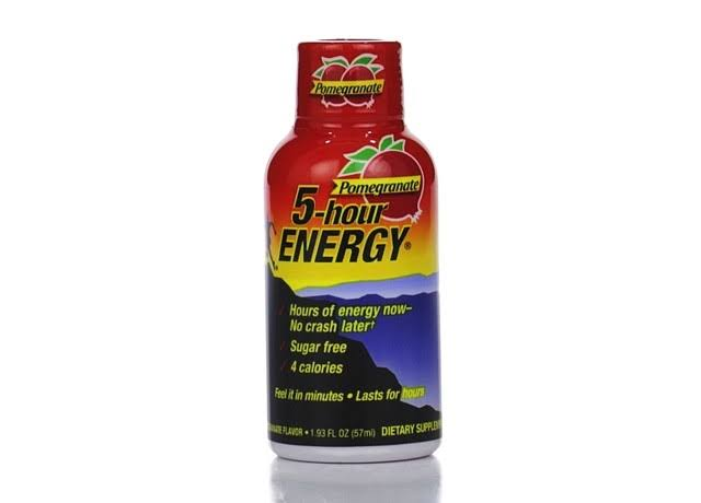 5 Hour Energy Drink - Pomegranate Flavor, 1.93oz