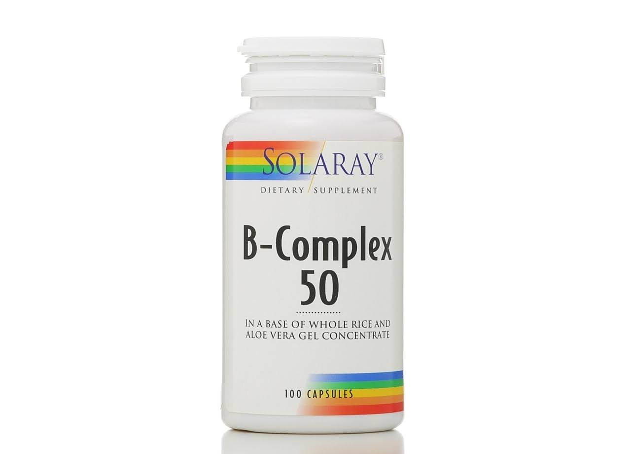 Solaray B-Complex Supplement - 50mg, 100 Capsules