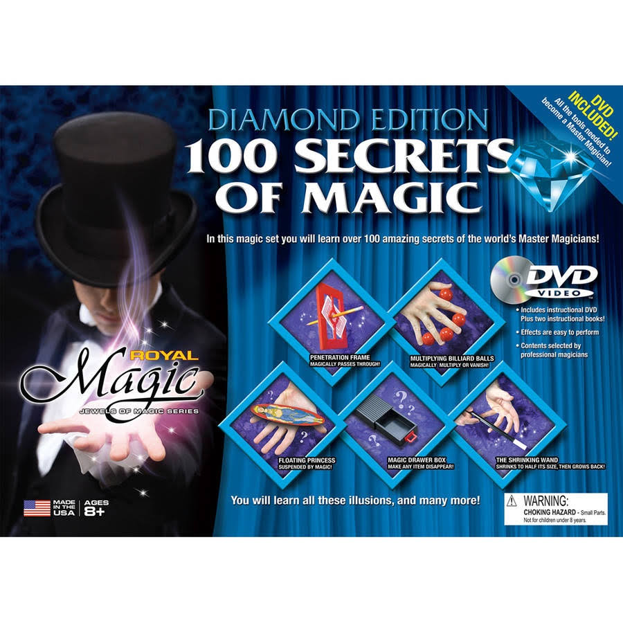 Diamond Edition 100 Secrets Of Magic Set