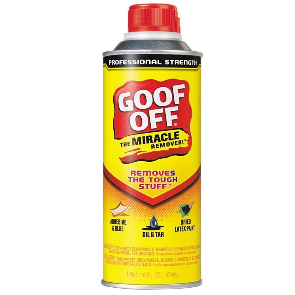 Goof Off Pro Strength Remover - 473ml