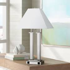 Verilux Heritage Desk Lamp by Lamps With Outlets An Led Desk Lamp With Usb Port And Power
