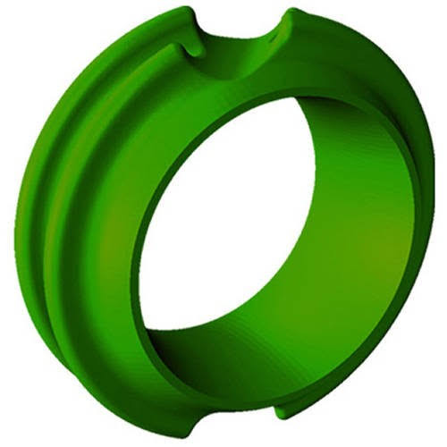 G5 Outdoors 316GREEN Meta Pro Peep - Green Hunter, 3/16""