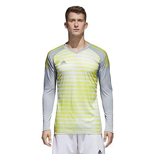 Adidas Adipro 18 Long Sleeve Goalkeeper Jersey Grey-Yellow - L