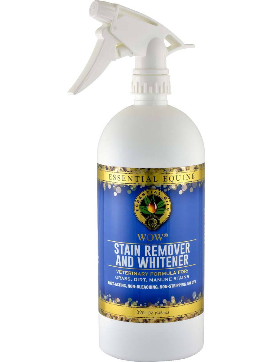 Essential Equine Wow! Stain Remover And Whitener Spray - 32ml