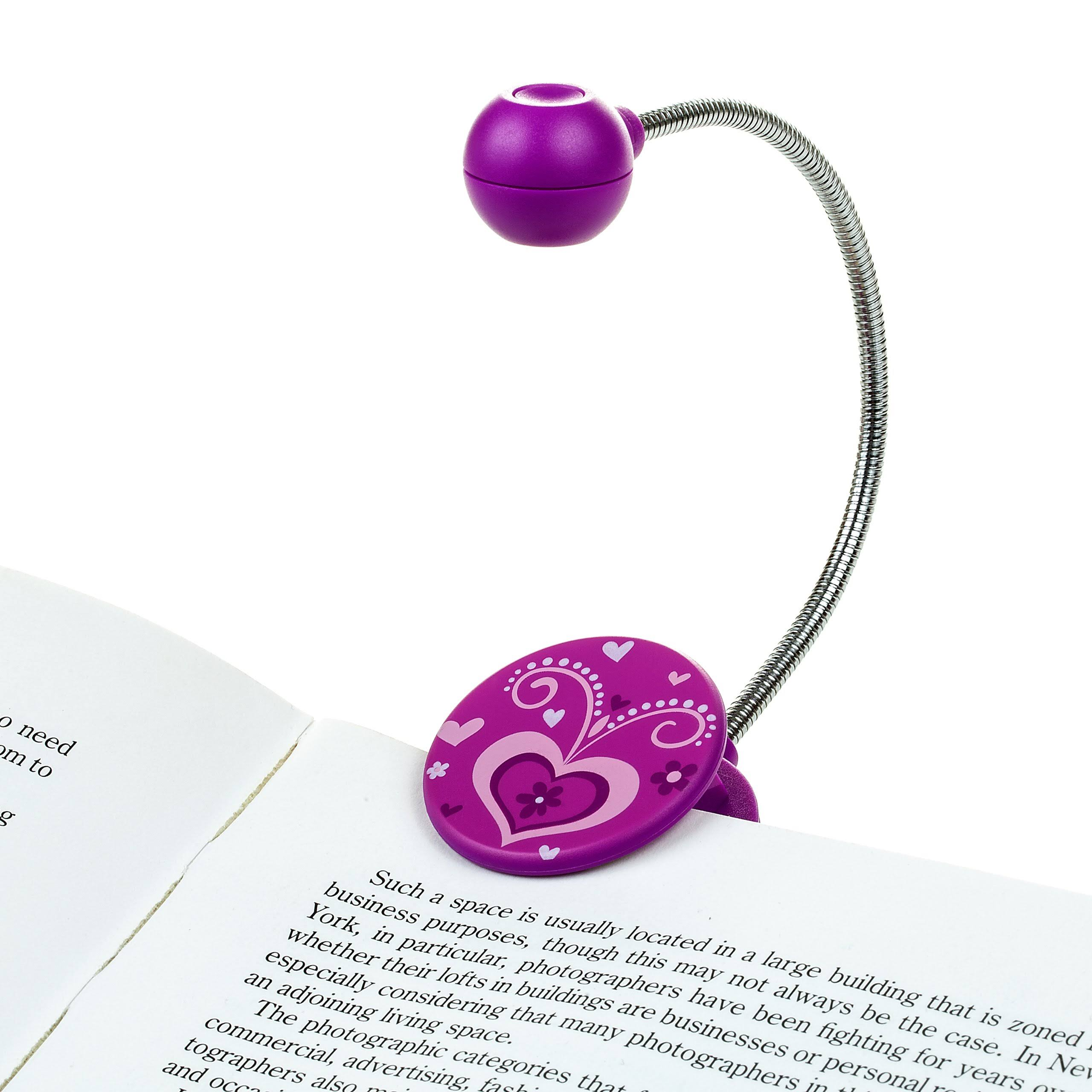 Disc Led Reading Light - Purple