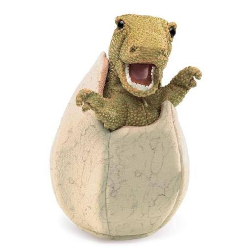 Folkmanis Puppets Dinosaur Egg Hand Puppets