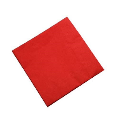 Red Beverage Napkins 30 ct.