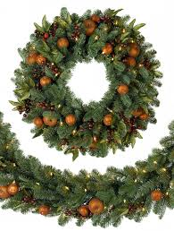 Balsam Christmas Tree Australia by Artificial Christmas Wreaths Decorated Brockhurststud Com
