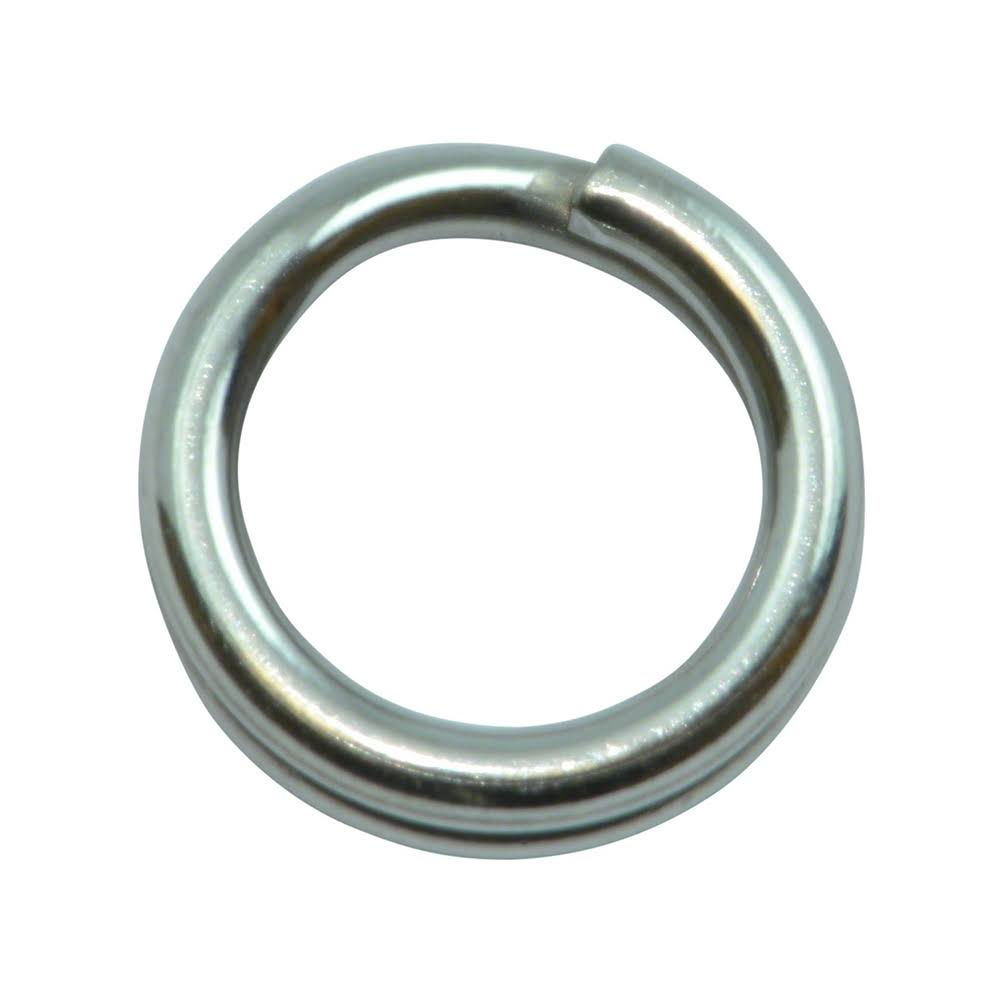 Spro Power Split Rings - Size 5, 90lbs, 10ct