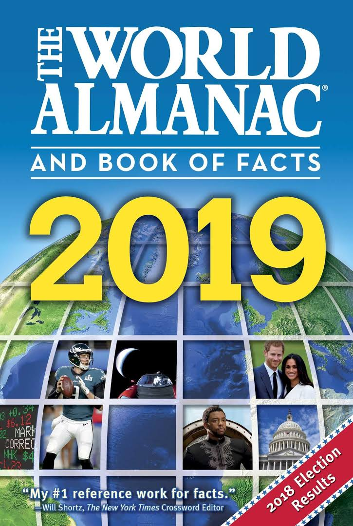 Image result for THE WORLD ALMANAC® AND BOOK OF FACTS 2019