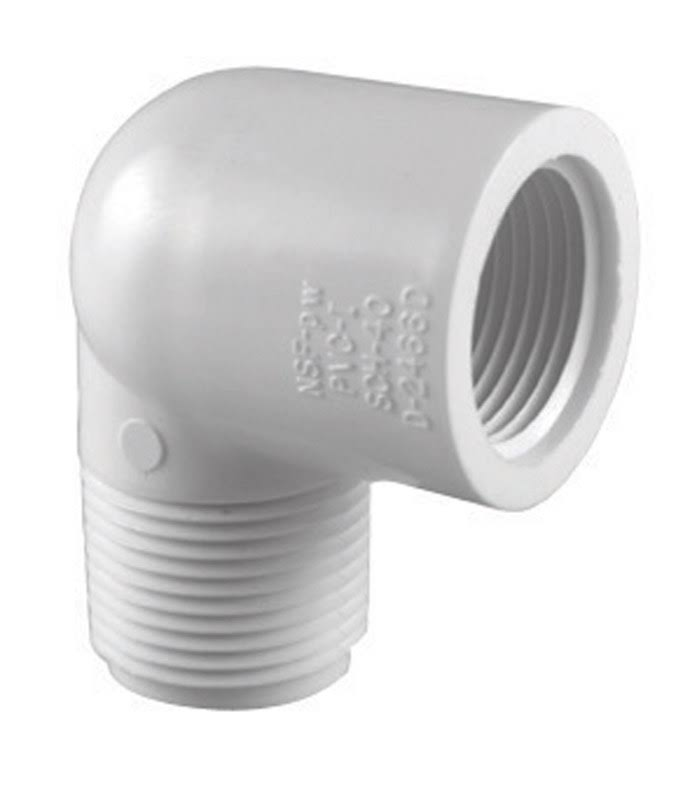 Charlotte Pipe PVC 90 Degree Street Elbow - 1/2""