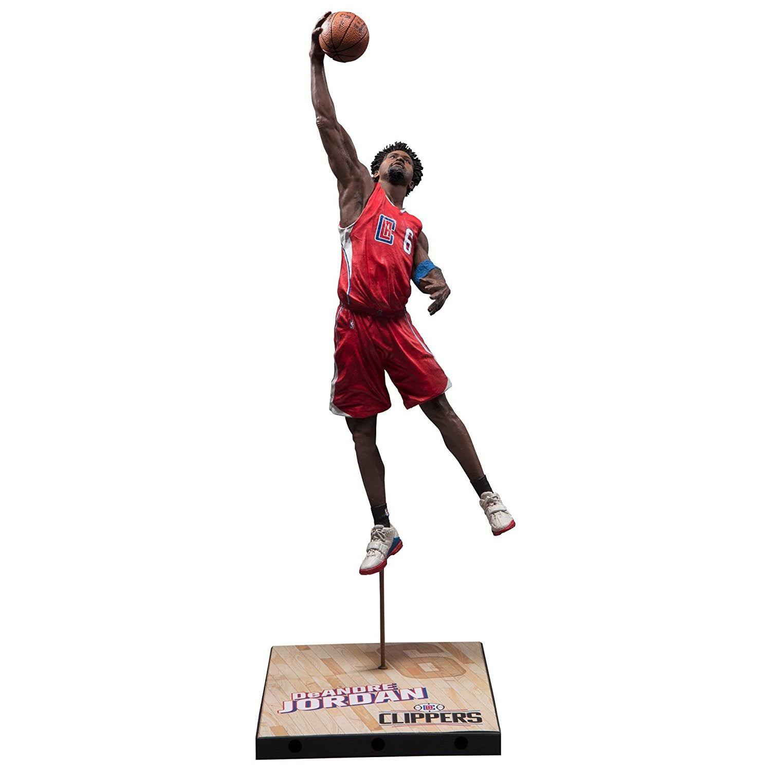 McFarlane Nba Series DeAndre Jordan Los Angeles Clippers Collectible Action Figure - 7""