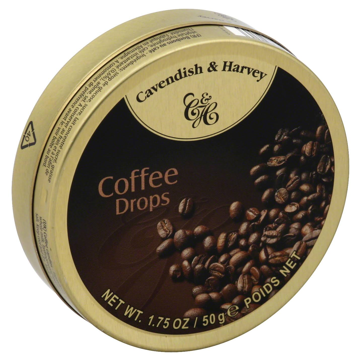 Cavendish & Harvey Coffee Drops - 1.75 oz pack