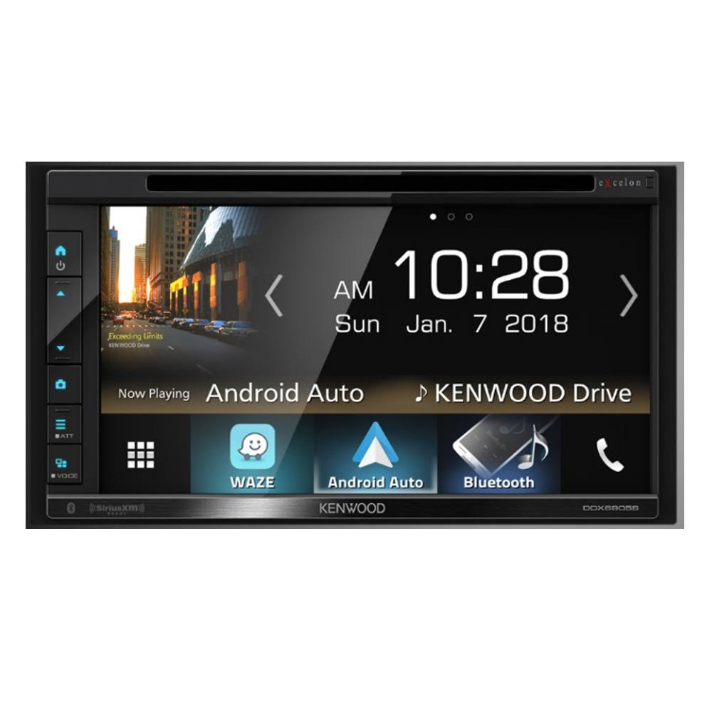Kenwood Excelon DDX6905S Multimedia Receiver - 6.8""