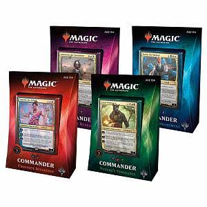 Magic The Gathering 2018 Commander Deck Set