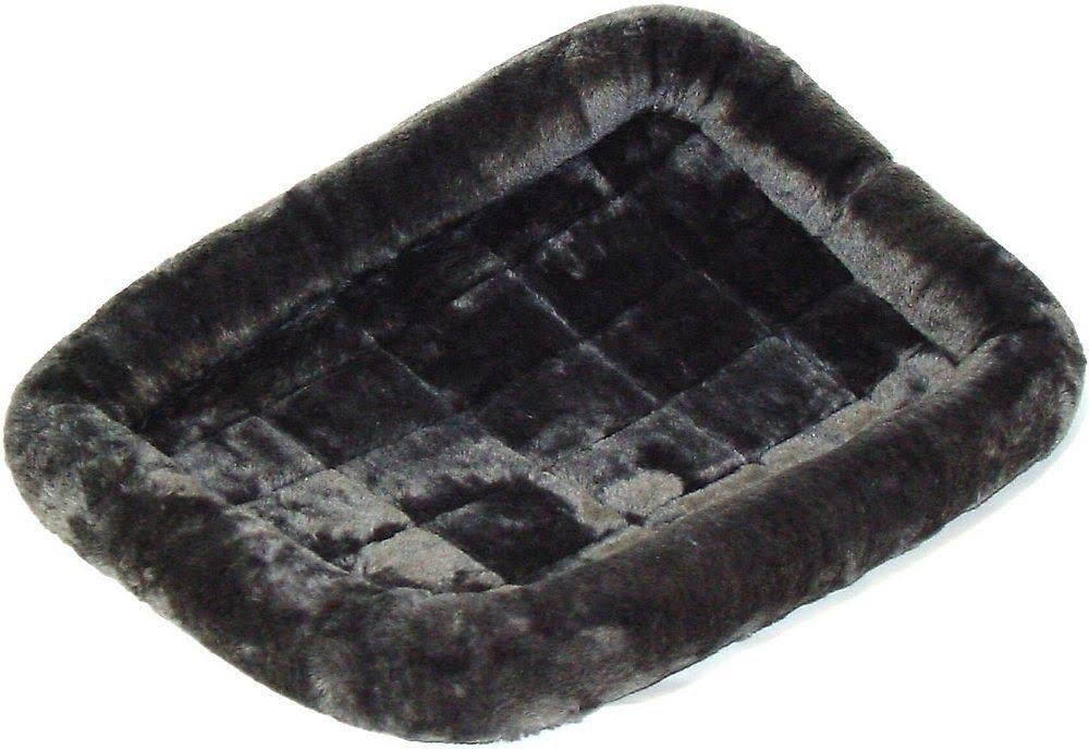 Midwest Quiet Time Pet Bed - Gray