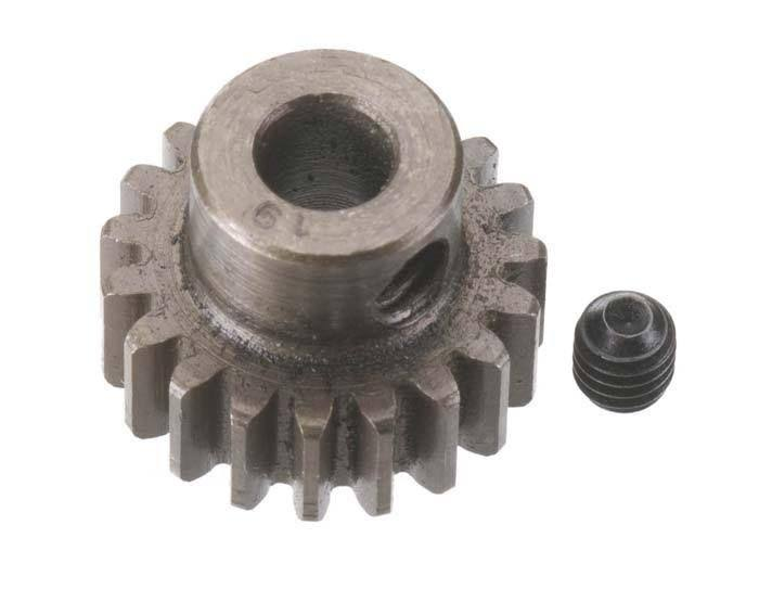 Robinson Racing Extra Hard 5mm Bore .8 Module (31.75P) Pinion 19T