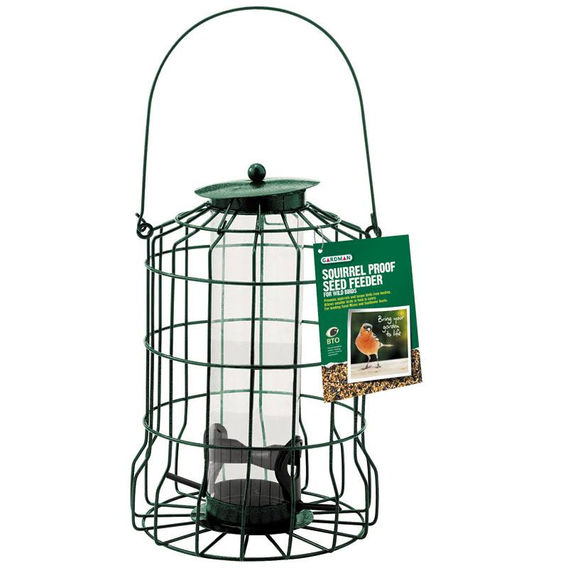 Gardman Squirrel Proof Bird Seed Feeder