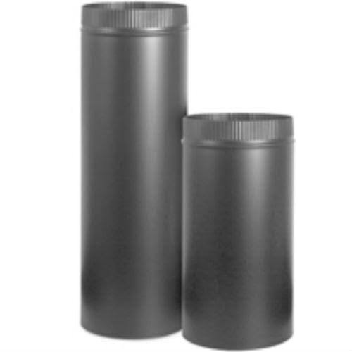 "Imperial BM0121 Stove Pipe - Black, 7"", 36""x 24 ga"