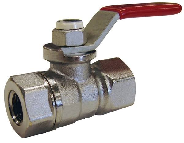 Mueller Brass Ball Valve - 3/8""