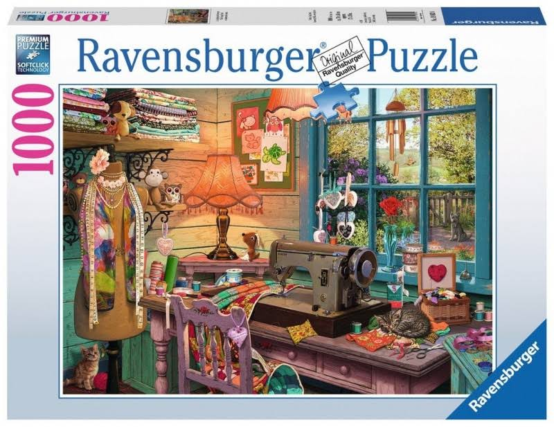 Ravensburger - The Sewing Shed - 1000 PC Puzzle