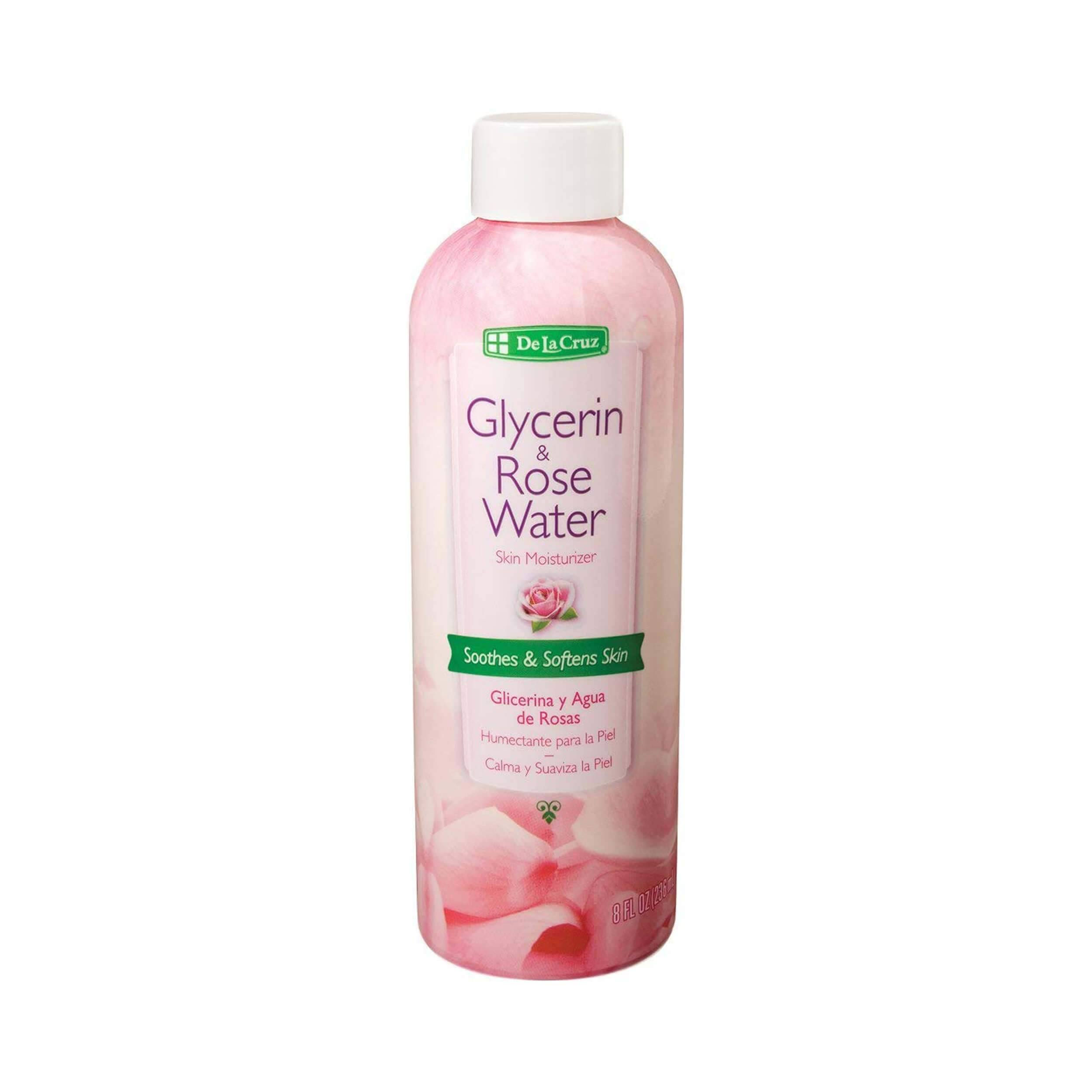 De La Cruz Glycerin Rose Water - 6pk, 8oz