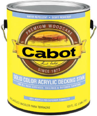 Cabot Acrylic Deck Stain