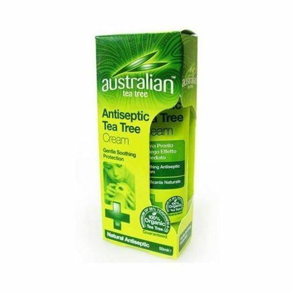 Australian Tea Tree Antiseptic Cream - 50 ml