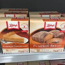 Libbys Pumpkin Pie Spice by Found Libby U0027s Pumpkin Cheesecake U0026 Pumpkin Bread Kits Snack Gator