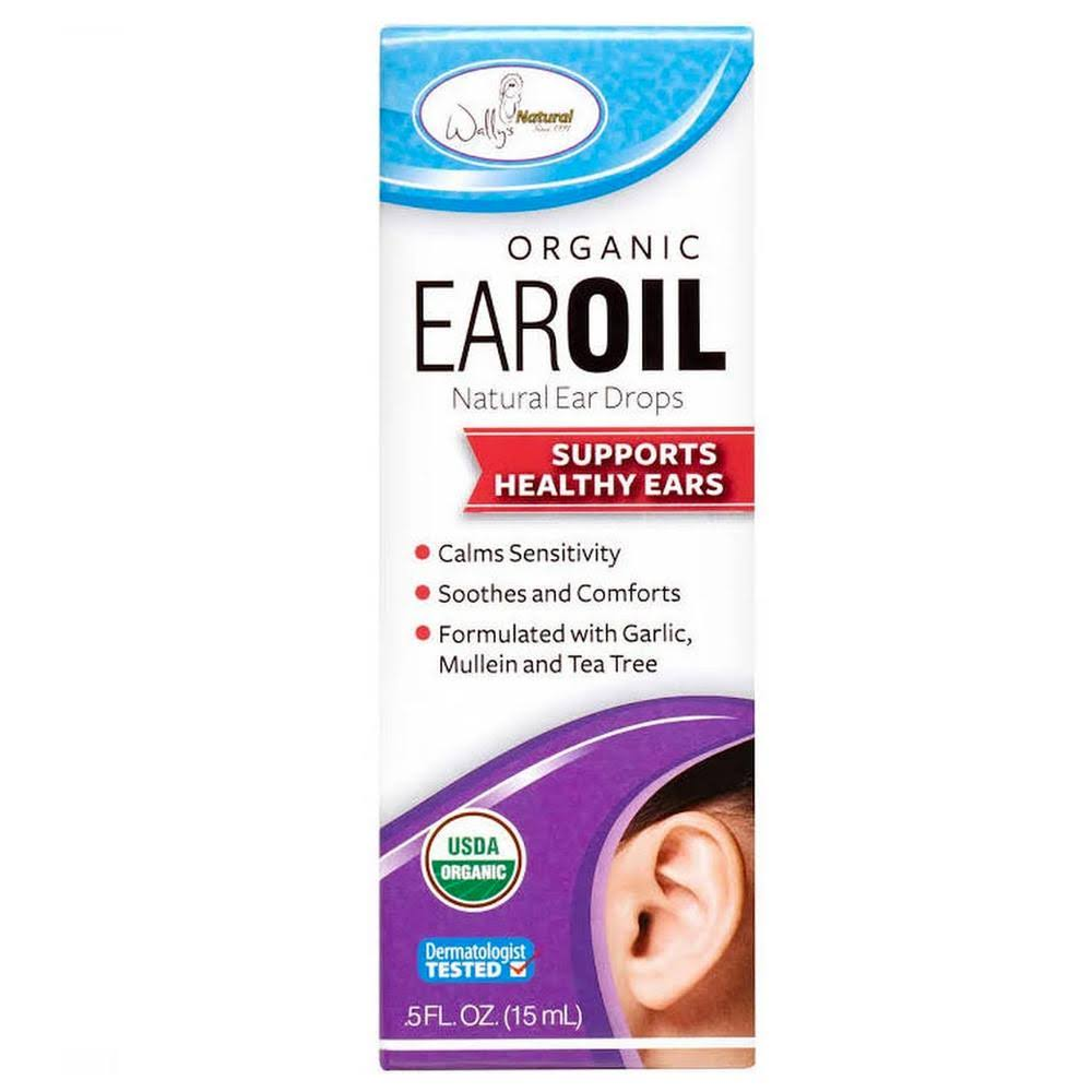 Wally's Natural Organic Ear Oil - 0.5oz