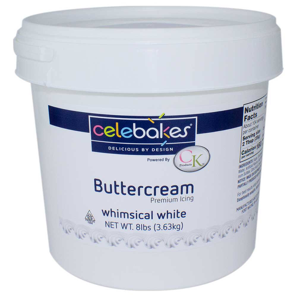 CK Products Buttercream Icing 8 lb