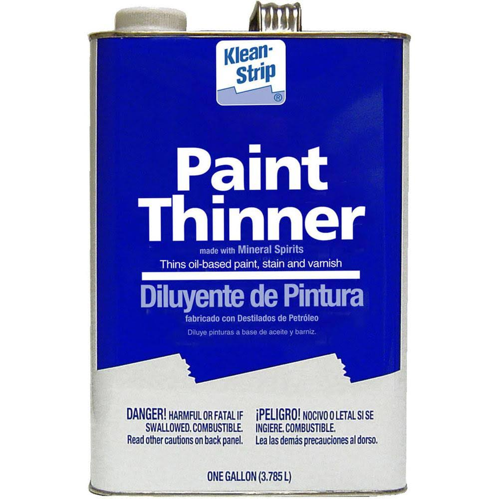 Klean Strip Paint Thinner - 1 Gallon