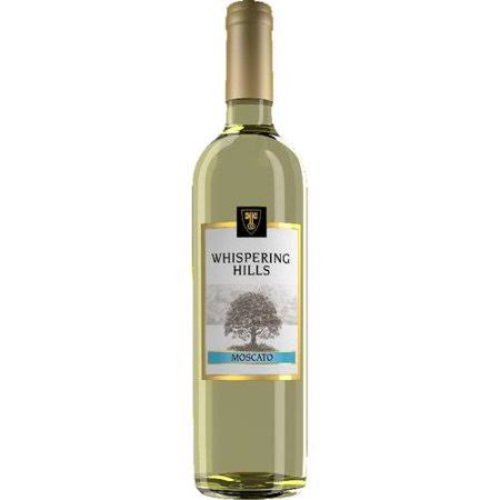 Whispering Hills Moscato Wine, 750 ml