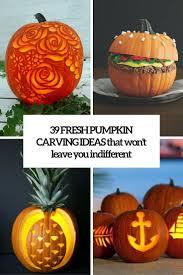 Evil Clown Pumpkin Stencils by 39 Fresh Pumpkin Carving Ideas That Won U0027t Leave You Indifferent