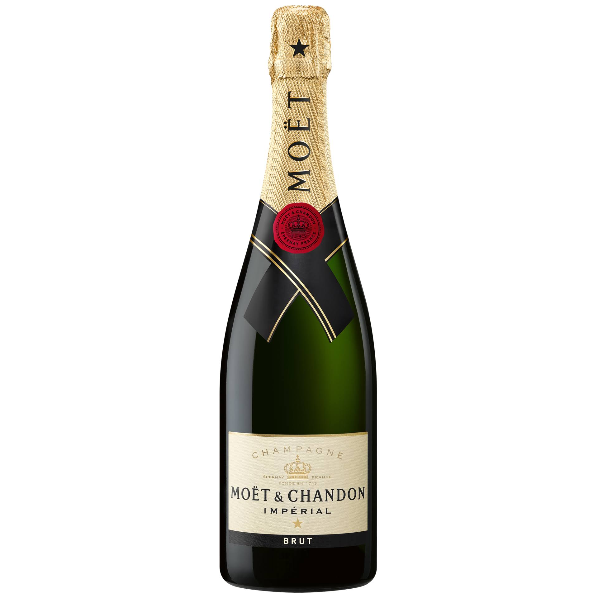 Moët and Chandon Impérial Brut Champagne - 75cl