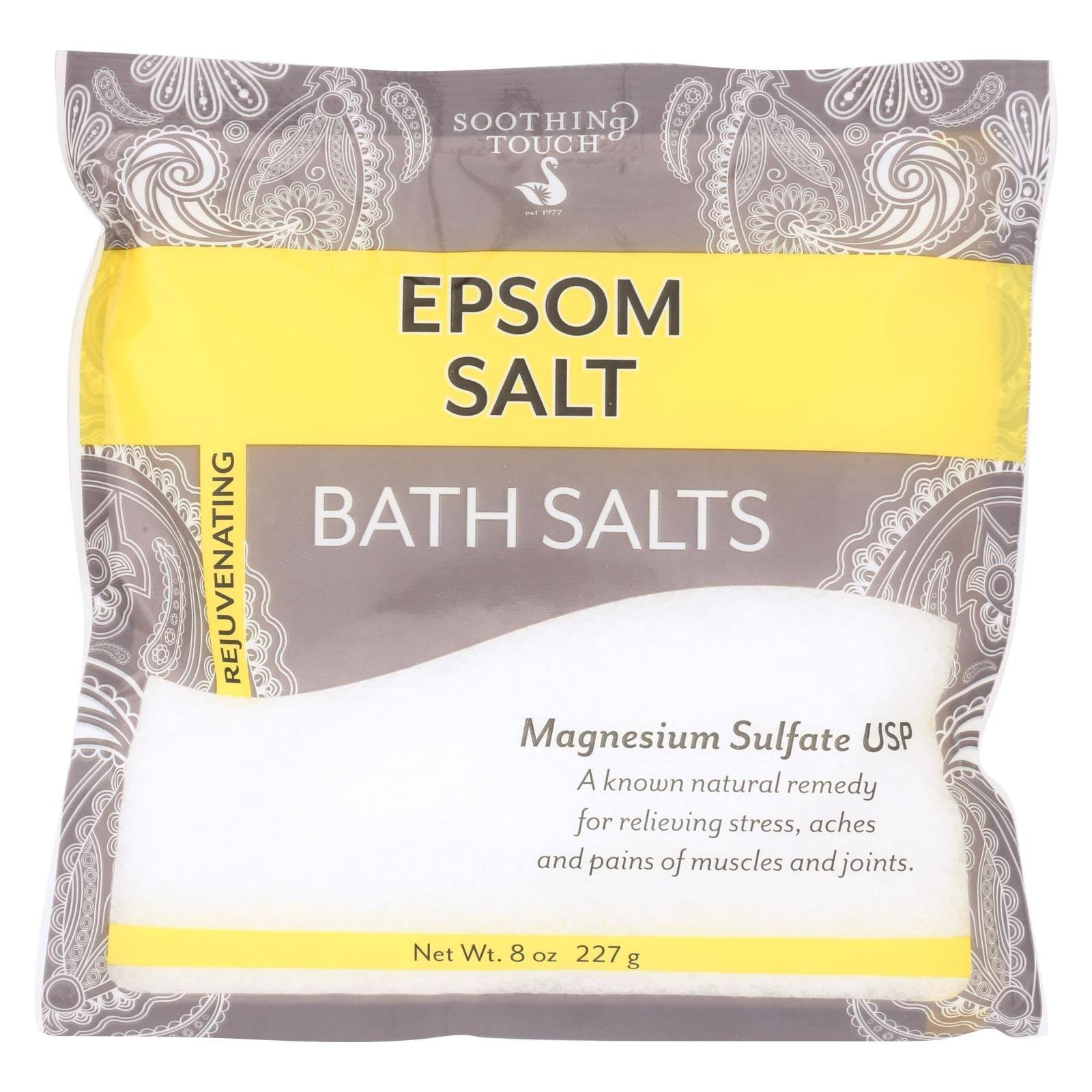 Soothing Touch Epsom Salts Pouch - Unscented, 8oz