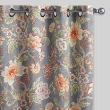 Moroccan Tile Curtain Panels by Curtains Drapes U0026 Window Treatments World Market