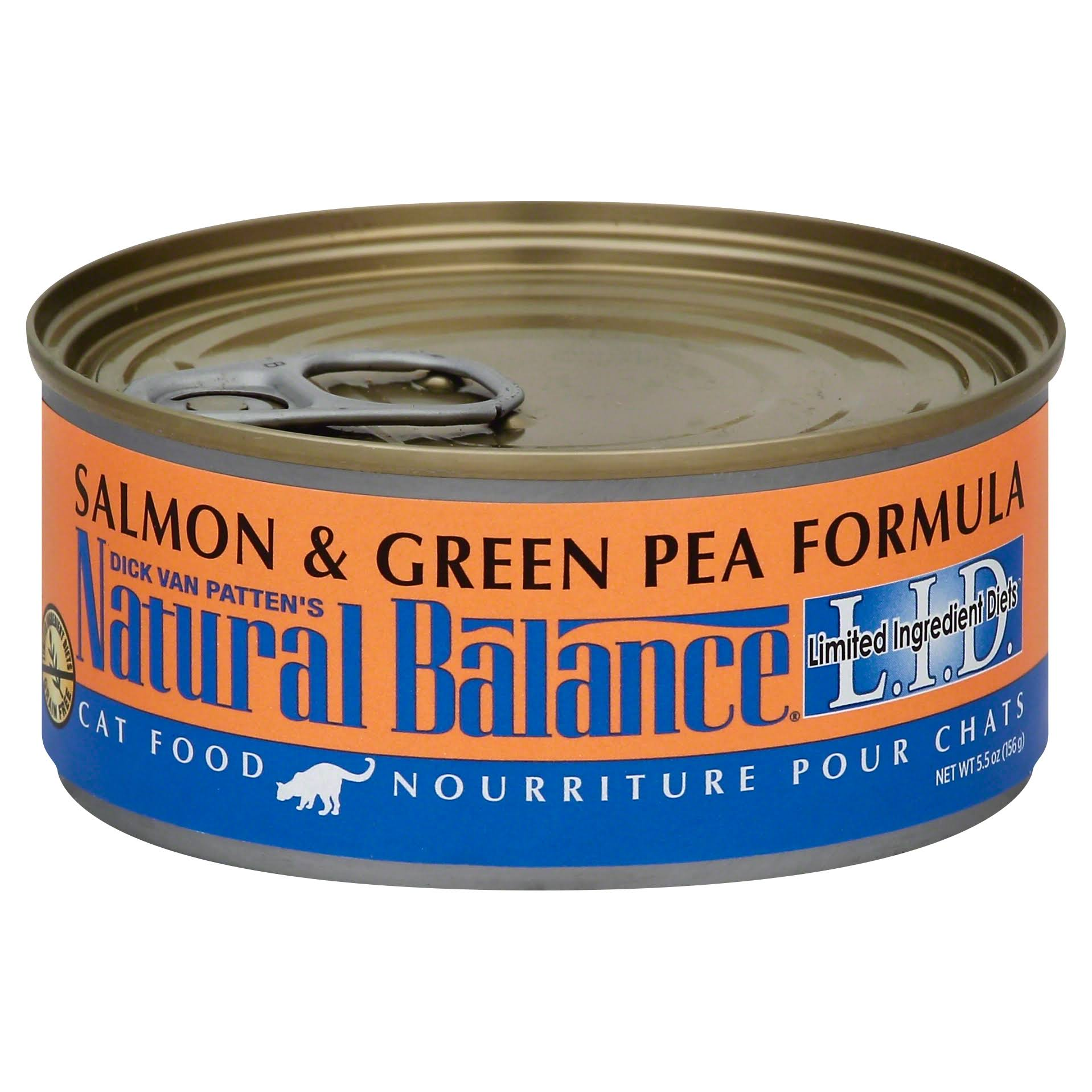 Natural Balance Lid Cat Food - Salmon & Green Pea