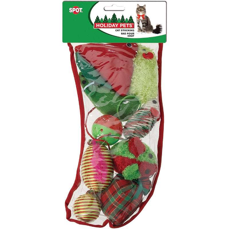 Ethical Products Spot Holiday Pet Cat Toy Stocking - Large